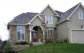 Contemporary Style Homes by Modern Stucco Homes With Big Yard Also In Contemporary Style