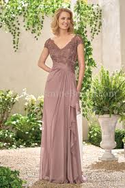 Mother Of Bride Dresses Couture by Jade Collection J195008 Jade Tiffany Chiffon Lace With Stretch