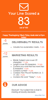 ranked 11 black friday and cyber monday subject lines