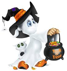 cute ghost clipart for kids clipartxtras