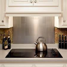 custom cut stainless steel backsplash kitchen backsplash brushed stainless tile glass mosaic tile with