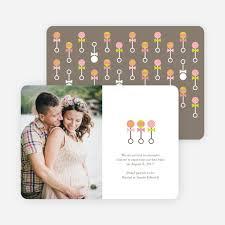 announcement cards tattle rattles pregnancy announcement cards paper culture