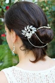 how to wrap wedding hair best 25 bridal hair chain ideas on pinterest headpiece bridal
