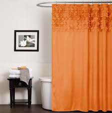 Brown Ruffle Shower Curtain by Ruffle Shower Curtain U2013 Fashionable Interior Detail Interior