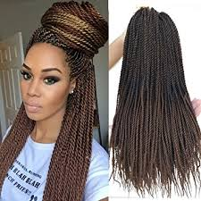 human hair used to do senegalese twist amazon com flyteng 18 inch 8 packs senegalese twist crochet