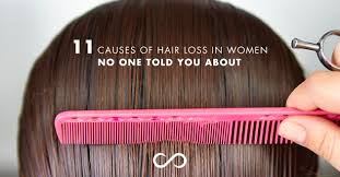 what causes hair loss in women over 50 hairfinity united states blog 11 causes of hair loss in women no