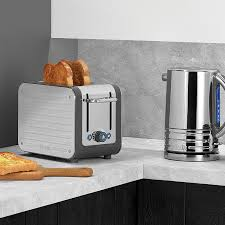 Dualit Stainless Steel Toaster Dualit 2 Slot Architect Toaster Grey 26526
