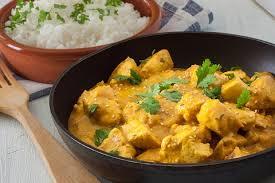 agneau korma cuisine indienne l inde dans votre assiette recette du poulet ou de l agneau au