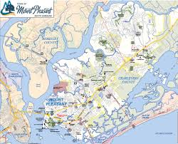 sc map maps of mount pleasant estate area residential and