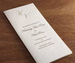formal wedding program wording wedding program wording part 1 what to include in your wedding