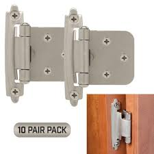 kitchen cabinet door hinge came classic hardware kitchen cabinet door hinges 10 pair pack 20 pieces self closing satin nickel