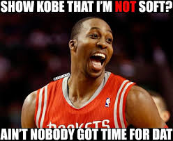 Dwight Howard Memes - nba memes on twitter dwight howard trying to show kobe bryant he s