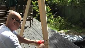 how to make a simple table top easel how to make your own easel youtube