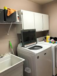 best place to buy cabinets for laundry room clever diy laundry room cabinets shelving that i should
