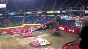 monster truck jam los angeles iron outlaw freestyle monster jam arco arena 2011 youtube