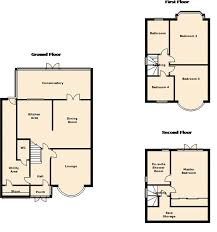 semi detached floor plans 4 bedroom semi detached house for sale in sarehole road