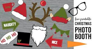 photo booth prop ideas free christmas photo booth props printable paper trail design