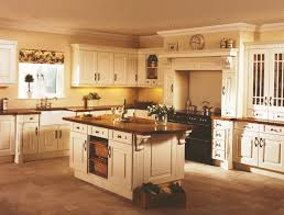 glass countertops cream color kitchen cabinets lighting flooring