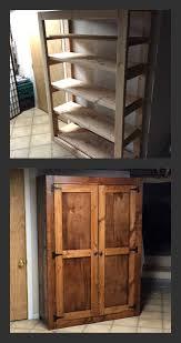 real wood kitchen pantry cabinet 2x4 diy pantry white