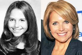 hairstyles of katie couric katie couric
