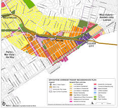 Los Angeles County Zoning Map by As Transit Expands In Los Angeles Will Walkability Follow