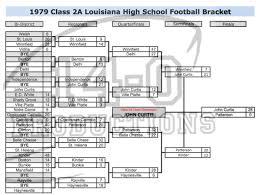 1970 u0027s louisiana high football playoff brackets