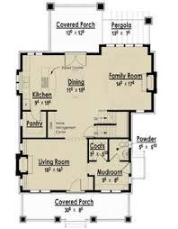 Bungalo Floor Plan Plan 69541am Bungalow With Open Floor Plan U0026 Loft Cottage House
