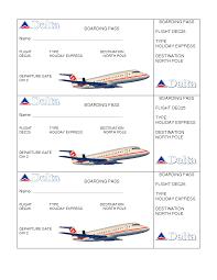 boarding pass template affordablecarecat