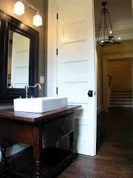 Repurposed Bathroom Vanity by Repurposed Dresser As Washstand Transitional Bathroom