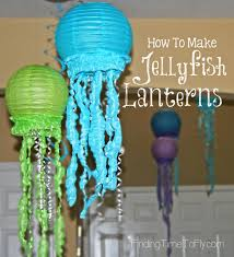how to make jellyfish lanterns jellyfish tutorials and birthdays