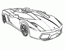 printable cars coloring pages pictures 6382