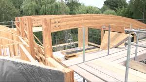 A Framed Houses by Custom Timber Frame House Build Youtube