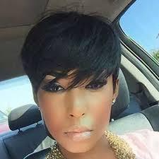 boycut hairstyle for blackwomen spiffy short adiors oblique bang straight bob synthetic wig boy