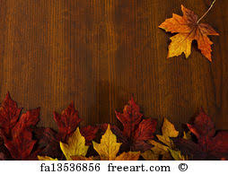 free print of autumn changing leaves nature and thanksgiving
