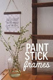 Balsa Wood Projects For Free by Best 25 Paint Stick Crafts Ideas On Pinterest Paint Sticks