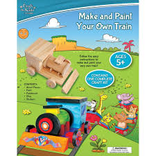 Make Your Own Wooden Toy Train by Make And Paint Your Own Wooden Train Craft For Kids By Bms 5