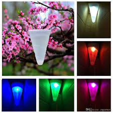 decorative hanging solar lights online cheap led hanging solar lights changing white balcony garden