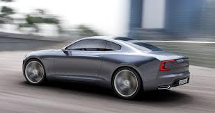 volvo usa the volvo concept coupé u2013 the next generation p1800 elegant
