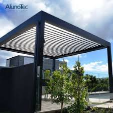 china customized size electric opening roof sunshade shutter blade