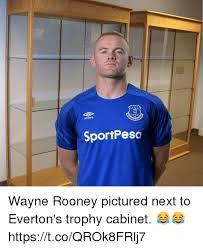 Everton Memes - everton umbro sportpeso wayne rooney pictured next to everton s