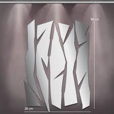 Toiles Contemporaines Design Miroir Design Deco Lames Mi0027 Tableaux Déco Personnalisés