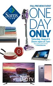 sam s club one day sale august 5 slickdeals net