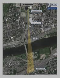 Empire State Plaza Map by Mclaren Engineering Group Completes Study For Possible Gondola In
