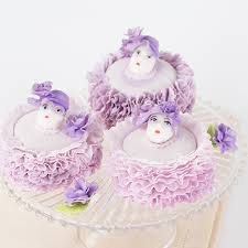 Easter Bonnet Cake Decorating in your easter bonnet with all the frills upon it