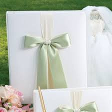 wedding memory book memory book with custom ribbon by beverly clark