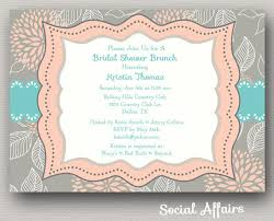 wording for bridal luncheon invitations bridal shower invitations free printable bridal shower brunch