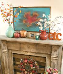 pumpkin door decoration living room fall crafts for mantel decorating ideas ivory burlap