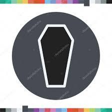 Halloween Icon Coffin Icon Halloween Icon U2014 Stock Vector Mfbs 86458470