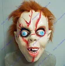 chucky mask mothology snake jingle clown and chucky mask in party masks from