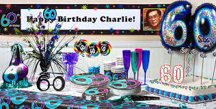 60th birthday party decorations the party continues 60th birthday party supplies party city